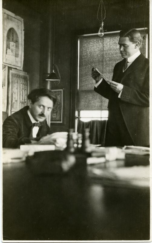 Peirce Anderson and Fernand Janin