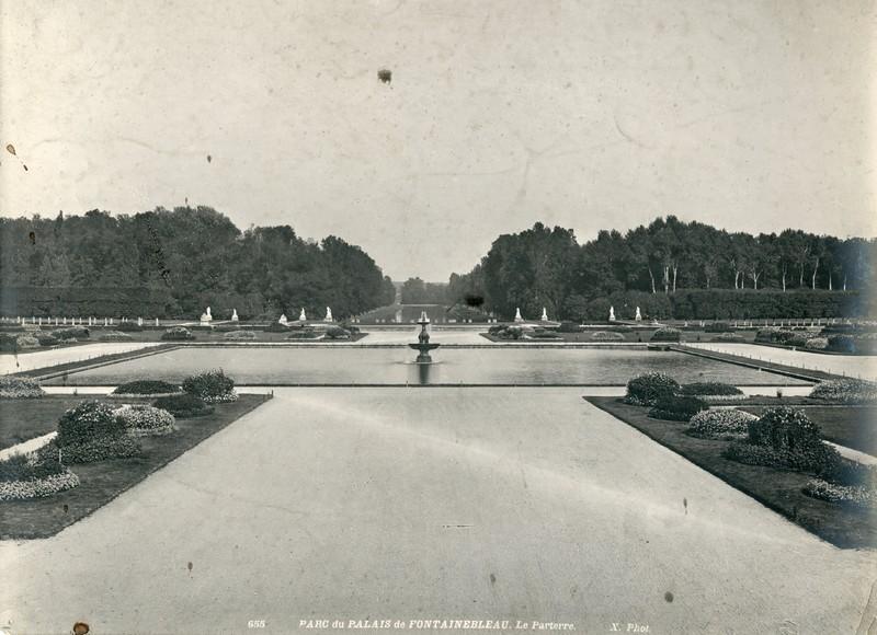 Park of the Château de Fontainebleau