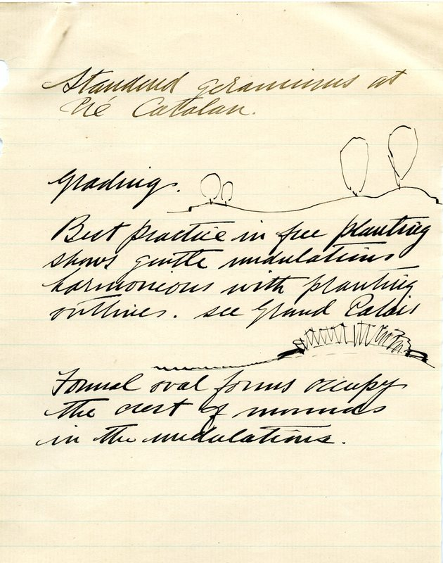 Edward H. Bennett Notebook