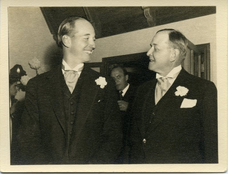 Edward H. Bennett with Son, Ted