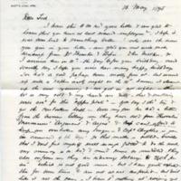 Edwin C. Bennett to Edward H. Bennett Correspondence