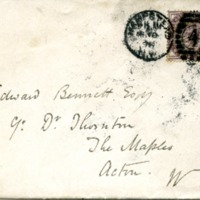 R. Norman Shaw to Edward H. Bennett Correspondence