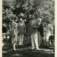 Edward H. Bennett with Friends